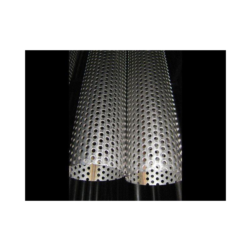 Tube inox perfor 304 l diam tre 60 33 lamouille technologie - Tube inox diametre 60 ...