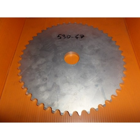 Couronne transmission alu. 47 dents pas 530