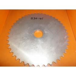 Couronne transmission alu. 45 dents pas 530