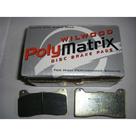 PLAQUETTE FREIN WILWOOD POLYMATRIX E